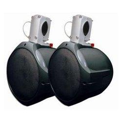 MCM Electronics - 60-10031 - 8 Marine Wakeboard Two-Way Speaker Pair - Black