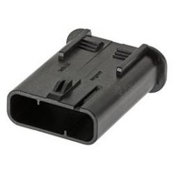 Molex - 201840-0030 - Heavy Duty Connector Base, Key A, MultiCat 201840 Series, Cable Mount