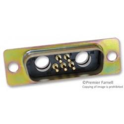 ITT - DAMM7W2P - Combination Layout D Sub Connector, Combo D D*M Series, DA-7W2, Plug, 5 Contacts, 2, Solder
