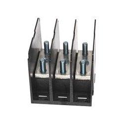 Marathon Special Products / Regal Beloit - 1323122 - Panel Mount Barrier Terminal Block, 200 A, 600 V, 3 Pole, 1, Stud