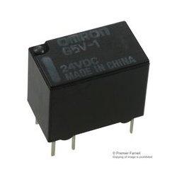 Omron - G5V-1-DC24 - Signal Relay, SPDT, 24 VDC, 1 A, G5V-1 Series, Through Hole, Non Latching