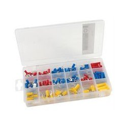 MCM Electronics - 28-6295 - 175 Piece Solderless Terminal Kit