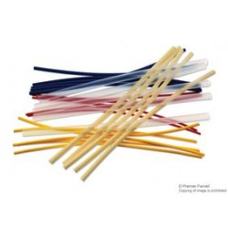 Pro Power - FPA-003-6030-AST - Heat Shrink Tubing Kit, 30 6 Long Pieces in 5 Sizes and Colors, Polyolefin