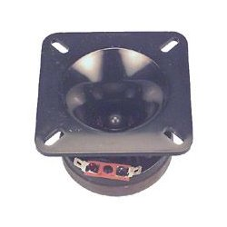 MG Electronics - BT-2 - Tweeter Speaker, Super Bullet, 3.5 Square, 100dB, 80W, 8ohm, 4kHz to 1900mHz