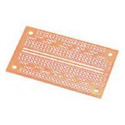 MCM Electronics - 21-4575 - Small IC Prototype Board, Number of Rows: 26, Board Dimensions: 1 15/16 x 1 11/16 x 3/32 , Features: Designed for ICs to straddl
