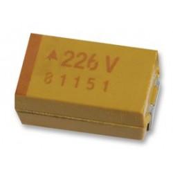 AVX - TCJB106M035R0200 - Tantalum Polymer Capacitor, 10 F, 35 V, TCJ Series, 20%, B, 0.2 ohm