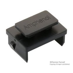 Amphenol - U77-A1110-8000P - Dust Cap / Cover, Dust Cover, SFP Cages, Thermoplastic Body