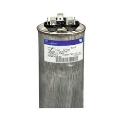 Regal Beloit - 27L877 - Motor Run Capacitor, 30 F, 5 F, 370 VAC, Gem III Series, 6%
