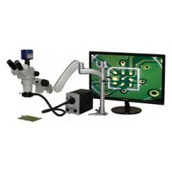 Aven Tools - 26800B-354 - Microscope, Trinocular, 1080PIX, 21x to 135x Magnification, LED