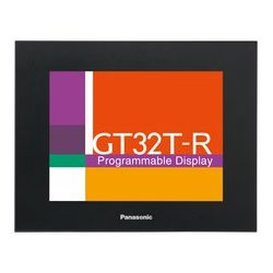 Panasonic - AIG32MQ02DR - Programmable Display, GT32-R Series, Monochrome, 5.7 , 320 x 240 Pixels, 24 Vdc, Serial, USB, Black