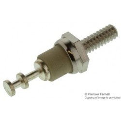 Cambion - 570-1994-02-01-00 - Turret Thread Mount Terminal, 6-32, Insulated, Silver