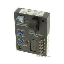 Macromatic - CAH20A8BD - Current Monitoring Relay, CAH Series, SPDT, 10 A, Panel, 240 VAC, Quick Connect