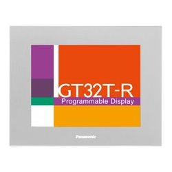 Panasonic - AIG32TQ05DR - Programmable Display, GT32-R Series, TFT Color, 5.7, 320 x 240 Pixels, 24 Vdc, RS422, RS485, Silver
