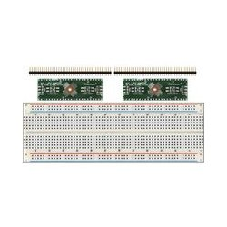 SchmartBoard - 204-0014-31 - 2 pack of EZ .5mm Pitch, 48 Pin QFP & QFN Adapter with Breadboard