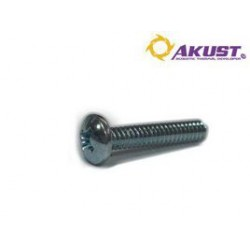 Akust Technology - SK00-0038-AKS - Screw 6-32 X 3/4 Inch 25pcs Ziround Head 19.05mm