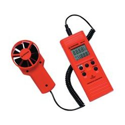 Amprobe - TMA10A - Anemometer, 0.4m/s to 25m/s, 0 C, 50 C, 80%, 181 mm