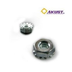 Akust Technology - SK00-0044-AKS - 25 Pack #4-40 x 1/4 Screw Nuts
