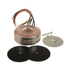 Hammond Manufacturing - 1182N117 - Toroidal Transformer, Power, 500 VA, 2 x 117V, 4.28 A, Panel, 1182 Series