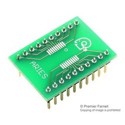 Aries - LCQT-TSSOP20 - Ic Adaptor, 20-tssop To Dip, 2.54mm