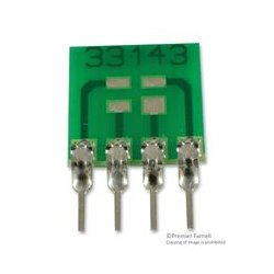 Capital Advanced - 33143 - IC Adapter, 4-SOT-143 to 4-SIP, 1.99mm Pitch Spacing, 2.54mm Row Pitch, 33000 Series