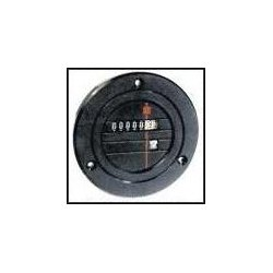 Redington - 711-0160 - Panel Mount Timer, Model 711, 103.5 VAC, 126.5 VAC, 0 s, 99999.99 h