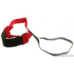 Duratool - MC000013 - ESD Grounder, Heel, Black, Grey, 1 Mohm, 18 , Elastic, Hook and Loop