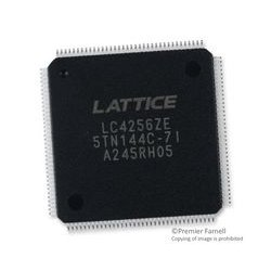 Lattice Semiconductor - LC4256ZE-7TN144I - CPLD, ispMACH 4000ZE Series, 256, 96 I/O's, TQFP, 144 Pins, 200 MHz