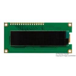 Lumex / ITW - LOD-H01602DP/A-Y - Alphanumeric OLED, 16 x 2, Yellow on Black, 5V, I2C, Parallel, SPI