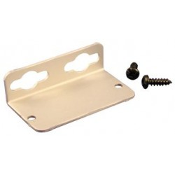Hammond Manufacturing - 1455NFBK - Enclosure Accessory, Pair, Mounting Bracket, Extruded Aluminum Enclosures, 1455N Series