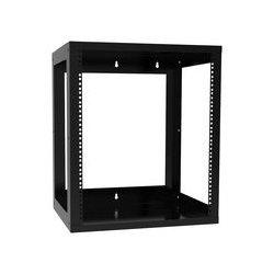 Hammond Manufacturing - 1459JBK1 - Rack, Open Frame, Steel, Black, 894 mm, 536 mm, 410 mm