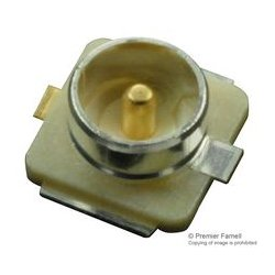 Hirose Electric - U.FL-R-SMT-1(10) - RF / Coaxial Connector, U.FL Coaxial, Straight Jack, Surface Mount Vertical, 50 ohm, Brass