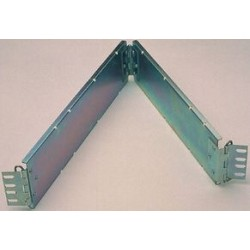 General Devices - C-4555 - Cable Organizer, Ribbon Cable Carrier, Steel, Clear, Two Point Mount Ribbon Carrier