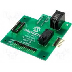 Microchip - AC163020 - Programming Adaptor PIC10F2XX, PIC10F Socket Support for both SOT-23 and DIP-8 Packages