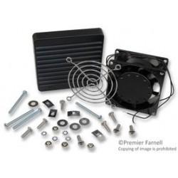 Hammond Manufacturing - DNFF080BK115 - Fan Kit, Filter, 115vac