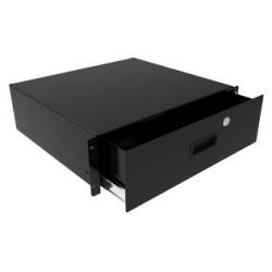 Hammond Manufacturing - RDRW1900712LG1 - Enclosure Accessory, Storage Drawer, Hammond Racks & Enclosures, Steel, Grey, 164 mm, 483 mm