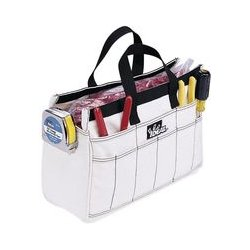 IDEAL Electrical / IDEAL Industries - 35-533 - Tool Bag, Natural, 18 Pocket