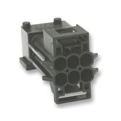 TE Connectivity - 1-962349-1 - Heavy Duty Connector Base, Cable Mount, Male Terminals