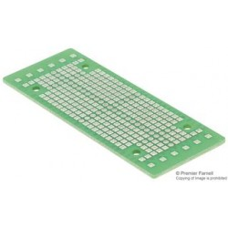 Bud Industries - DMB-4770-CB - PCB, Prototype, DIN Rail Mount Box, 1.6mm, 86.9mmx32.8mm