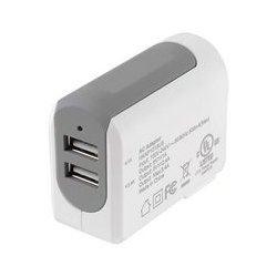 MCM Electronics - 29-7810 - 5V 3.4A Dual USB AC Wall Charger