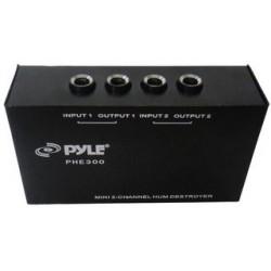 Pyle / Pyle-Pro - PHE300 - 2 Channel Ground Loop Isolator Hum/Noise Eliminator 1/4