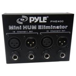 Pyle / Pyle-Pro - PHE400 - 2 Channel Ground Loop Isolator Hum/Noise Eliminator XLR and 1/4