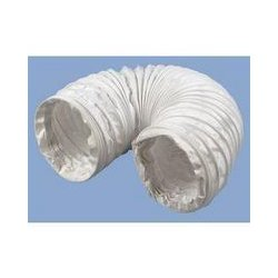 MCM Electronics - 140-1005 - 4 Round PVC Flexible Duct - Extends to 3'