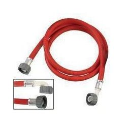 MCM Electronics - 140-1198 - 8' Rubber Hot Water Fill Hose - Red