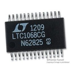 Linear Technology - LTC1068CG#PBF - Analog Filter, Switched Capacitor, 2nd, 4, 3.14 V, 5.5 V, SSOP