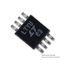 Linear Technology - LTC1992CMS8#PBF - Differential Amplifier, Low Power, 1 Amplifiers, 2.5 mV, 3.2 GHz, -40 C, 85 C