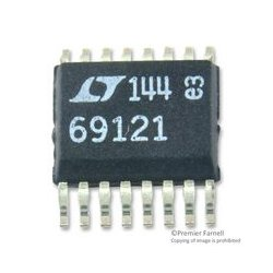 Linear Technology - LTC6912CGN-1#PBF - Programmable/Variable Amplifier, 2 Channels, 2 Amplifier, 33 MHz, -40 C, 85 C, 2.7V to 10.5V