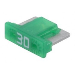 Littelfuse - 0891030.NXS - Fuse, Automotive, Fast Acting, 30 A, 58 V, 10.9mm x 3.8mm x 7.6mm, Low Profile MINI 891 Series