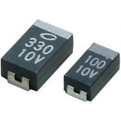 AVX - F931C225MAA - Surface Mount Tantalum Capacitor, 2.2 F, 16 V, F93 Series, 20%, 1206 [3216 Metric]