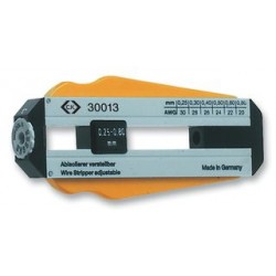 C.K. Tools - 330011 - Wire Stripper, Precision, 0.8-0.25mm Diameter Wires