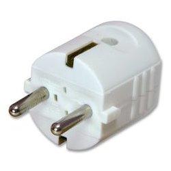 APSA - 2030 WS - Power Entry Connector, Schuko, 16 A, White, 250 V